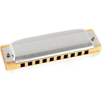 Custom Hohner Blues Harp - Key of E Flat
