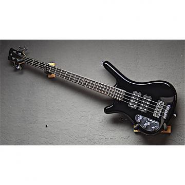 Custom Warwick Left Handed RB Corvette $$ 4 String Lefty Bass 2015 Black Polish
