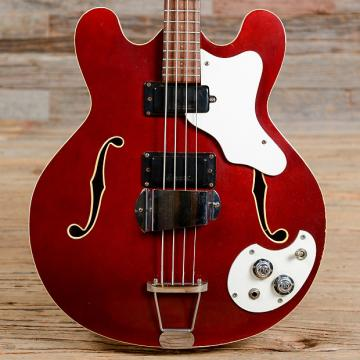 Custom Mosrite Celebrity III Bass Burgundy 1967 (s396)