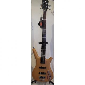 Custom Warwick Rockbass Corvette Classic 4-String Electric Bass Natural (blem)