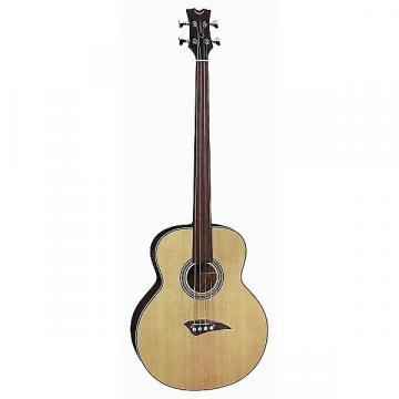Custom Dean EABFL Acoustic-Electric 4-String Fretless Bass Guitar