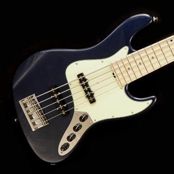 Custom Sadowsky Metro Series MV5 Bass Guitar - Dark Lake Placid - Sadowsky Metro Series MV5 Bass Guitar - Dark Lake Placid