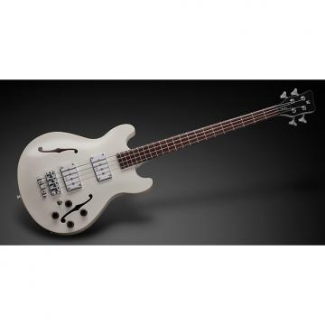 Custom Warwick WGPS StarBass 4 Cream White, Passive, Fretted, All Maple w/ Bag, Free Shipping