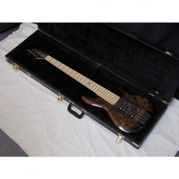 Custom TRABEN Chaos Core 5-string BASS guitar Black Vapor w/ HARD CASE - Aguilar preamp