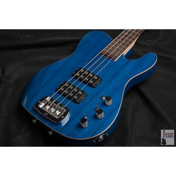 Custom G&L ASAT Bass Clear Blue on Empress - Authorized G&L Premier Dealer