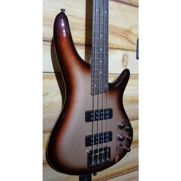 Custom New Ibanez SR300E Electric Bass Guitar Charred Champagne Burst