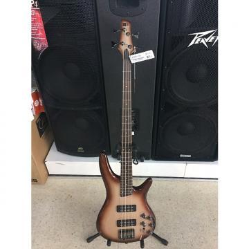 Custom Ibanez Electric Bass Guitar SR Series Charred Champagne Burst SR300ECCB