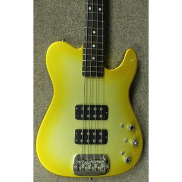 Custom G&L-ASAT Bass *Custom Gold Burst Finish*