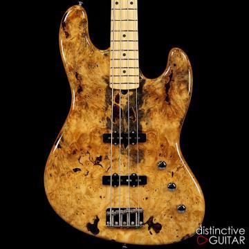 Custom Suhr Custom Classic J Bass - First of its Kind One Off Buckeye Burl!
