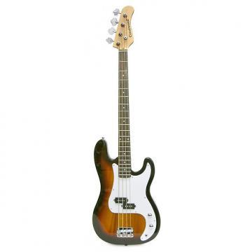 Custom Crestwood Bass Guitar 4 String Sunburst P-Style
