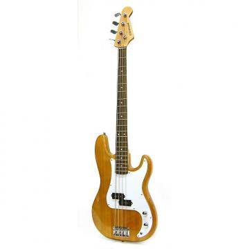 Custom Crestwood Bass Guitar 4 String Natural P-Style
