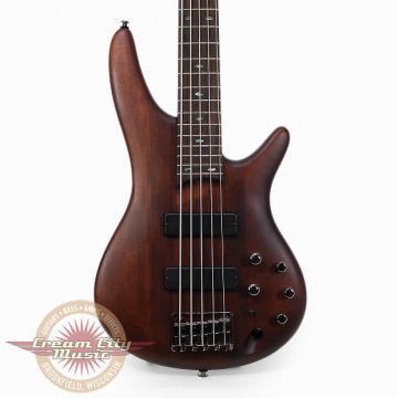 Custom Brand New Ibanez SR505BM 5-String Electric Bass in Brown Mahogany