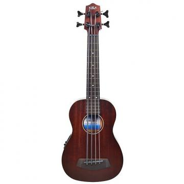 Custom Kala UBASS Ukulele Rumbler Mahogany Back/Sides Fretless with Bag