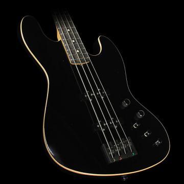 Custom Used 2015 Suhr Classic J Swamp Ash Electric Bass Guitar Black
