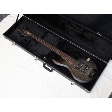 Custom Traben Chaos Core 4-string Bass guitar NEW w/ Hard Case - Satin Black Wash