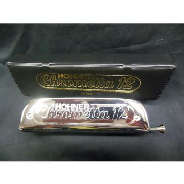 Custom 255/48 Hohner Chrometta 12 Chromatic Harmonica Key of C