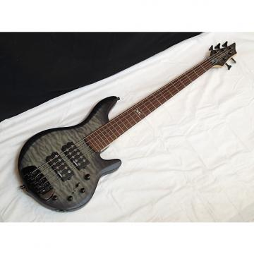 Custom Traben Chaos Core 5-string Bass guitar Satin Black Wash - NEW