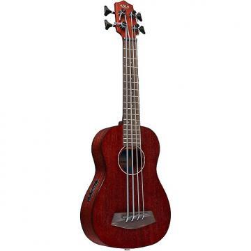 Custom Kala KA-UBASS-RUMBL-FS Mahogany Rumbler U-Bass with Gig Bag - Natural