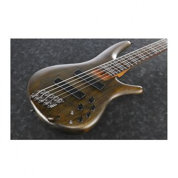 Custom Ibanez SRFF805  Walnut Flat 5-String Electric Bass