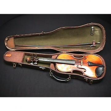 Custom Vintage 1958 E.R.Pfretzschner-Roth Intermediate Viola, Bow & Original Case Ready to Play as-is  # 12