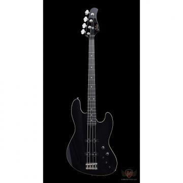 Custom Suhr Custom Blackout Classic J Roasted MN Ebony FB - Black (409)