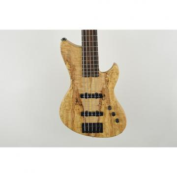 Custom Alpher Instruments Mako-Elite 5 string boutique handmade UK bass 2015 Spalted Maple