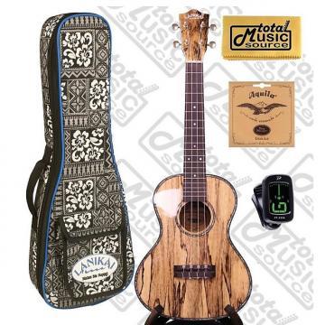 Custom Lanikai SMTU-T Solid Hawaiian Mango Tenor TunaUke w/Tribal Padded Gigbag,Tuner,Strings & PC, SMTU-T COMPTB