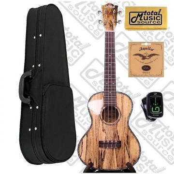Custom Lanikai SMTU-T Solid Hawaiian Mango Tenor TunaUke w/Soft Case,Tuner,Strings & PC, SMTU-T SCASE