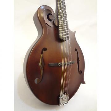 Custom Wide Nut Weber Gallatin F-Style Mandolin Leather Finish