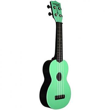 Custom MAKALA WATERMAN SOPRANO UKULELE - Green
