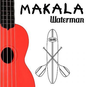 Custom MAKALA WATERMAN SOPRANO UKULELE - Red