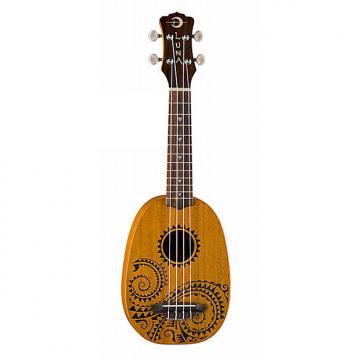 Custom Luna Guitars Tattoo Pineapple Ukulele Soprano Pineapple w/ Gigbag