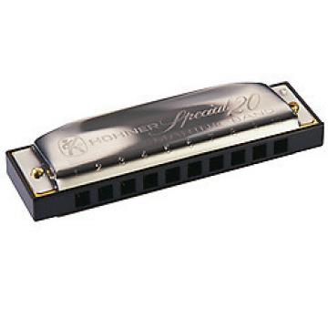 Custom Hohner Special 20 Diatonic Harmonica   F
