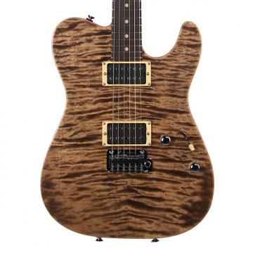 Custom Tom Anderson Guitars Cobra - Natural Mocha - Custom Boutique Electric Guitar - NEW!