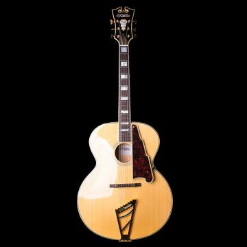 Custom martin guitar strings D'Angelico martin guitar strings acoustic EX-63 martin Archtop martin acoustic guitar Semi guitar strings martin Hollow Electric Guitar in Natural with Case