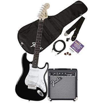 buy squier by fender affinity stratocaster beginner electric guitar pack with fender fm 10g. Black Bedroom Furniture Sets. Home Design Ideas