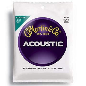 Martin martin guitar strings M130 martin acoustic strings Silk martin guitars & martin guitar strings acoustic Steel martin guitar accessories Folk Guitar Strings, Light