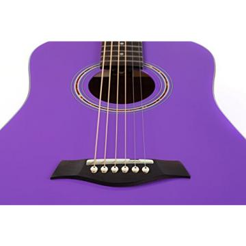 "Hola! martin acoustic strings HG-41PP martin guitar case (41"" guitar strings martin Full martin d45 Size) martin guitar accessories Deluxe Dreadnought Acoustic Guitar, Purple"