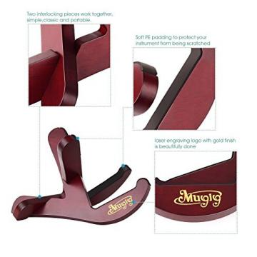 Mugig martin guitar case Musical guitar strings martin Instrument martin guitar strings acoustic Stand martin strings acoustic with martin acoustic guitar strings Two Y Shaped Pieces for Guitar