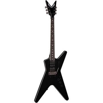 Dean ML SB F CBK Solid-Body Electric Guitar, Classic Black