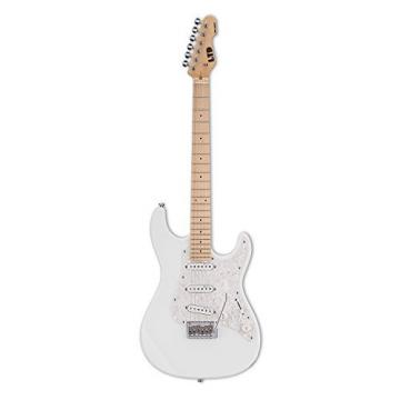 ESP LSN200WMSW Solid-Body Electric Guitar, Snow White