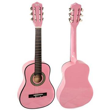 Trendy 30 Inch Classical Guitar (1/2 Size), Package, Basswood, Pink