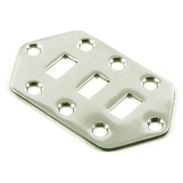 Fender Jaguar Pickup Selector Switch Control Plate for Electric Guitar - Chrome