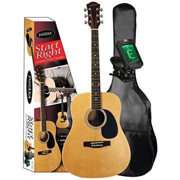 INDIANA ID-100 Acoustic Guitar Start Right Beginner Package