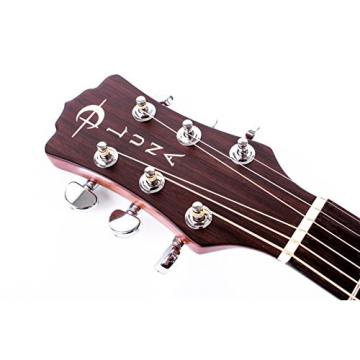 Luna Oracle Series Tattoo Spruce Grand Concert Acoustic-Electric Guitar with USB On Board