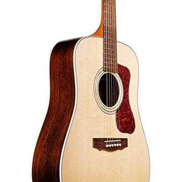 Guild D-150 NAT Natural Acoustic Dreadnought Guitar with Guild Poly Foam Case & ChromaCast Accessories