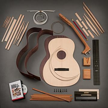 StewMac Build Your Own Triple-O Acoustic Guitar Kit with Rosewood Back & Sides, Sitka Top, Bolt-on Neck