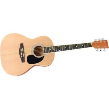 "Spectrum AIL 36K Student-Size 36"" Acoustic Guitar, Great for Beginners, Natural Matte Finish"