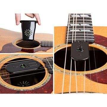 Ultimate Guitar Humidifier by MusicVow - Best for Acoustic & Classical Guitars in Dry Climate, Prevents Body Cracks & Warped Necks - FREE Accessories + EBOOK with Tips - Makes a Great Gift