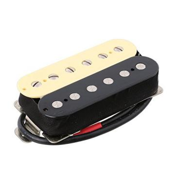 LYWS 2PCS Zebra Electric Guitar Humbucker Pickup Alnico 5 Magnet Double Coil Neck & Bridge Pickup
